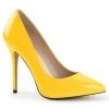 AMUSE-20 Neon Yellow Patent